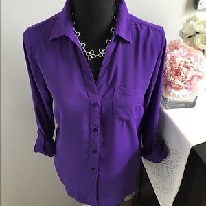 Purple Ashton blouse